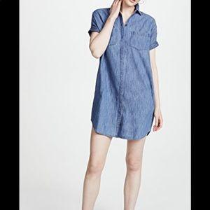 Madewell Courier Shirt Dress Size M—B4